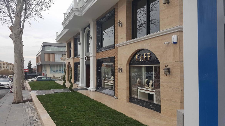 Kaff Diamond Merkez Binası İnşaatı ve Dekorasyonu