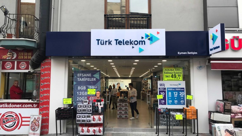 Türk Telekom 32 Adet Bayi Yenilemesi