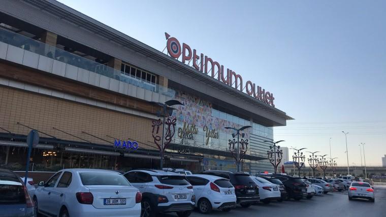 Optimum Alışveriş Merkezi Cephe Tadilatları