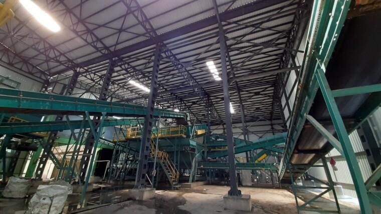 Malatya Katı Atık Depolama Alanı Çelik Bina İmalatı ve Montajı
