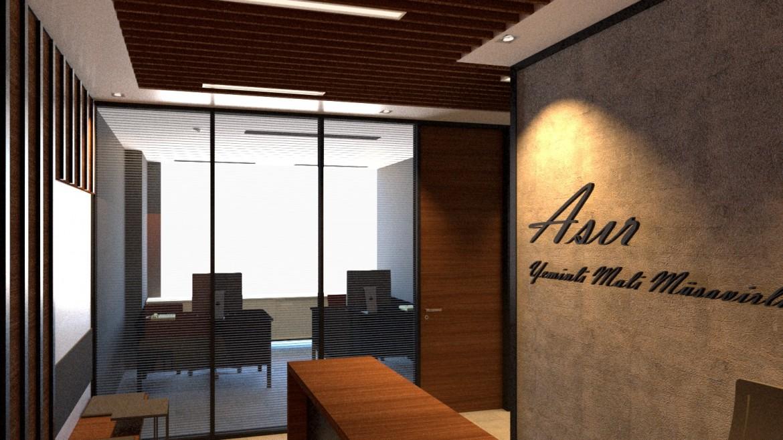 Asır Yeminli Mali Müşavirlik Yeni Ofis Tasarım ve Uygulaması