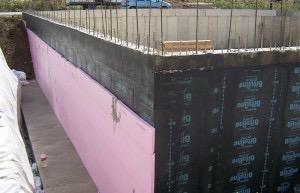 Bina Dışına Yapılan Su Yalıtım İşlemleri